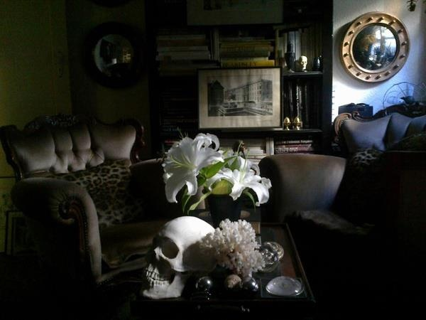 Gothic living rooms Living rooms and Gothic on Pinterest