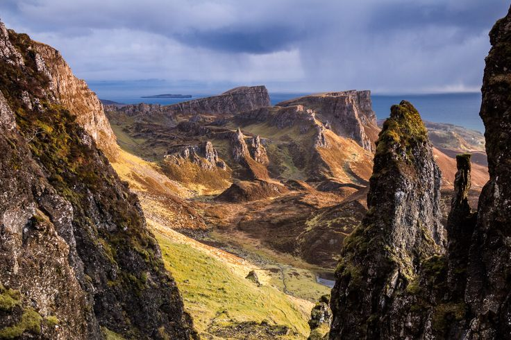 Breathless Point, Trotternish ridge on the Isle of Skye, Scotland. by Harry Martin on 500px