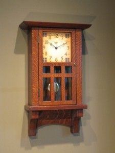 Arts and Crafts, Craftsman, Clock $700