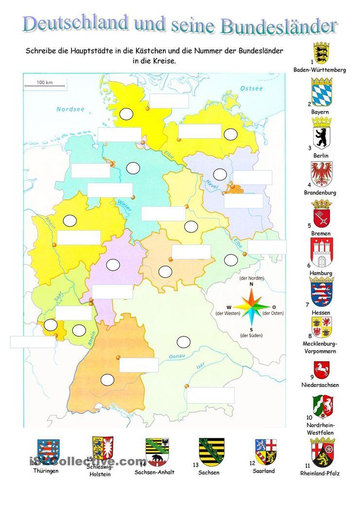 Deutschland und seine Bundesländer