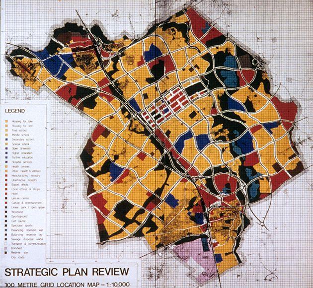 La nueva ciudad de Milton Keynes  | arquiscopio - archivo
