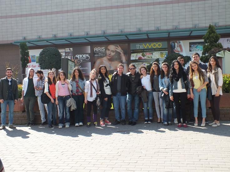 Değişim Sanat Akademisi Resim Kursu Öğrencileri Marmara Üniversitesi Güzel Sanatlar Fakültesindeydi