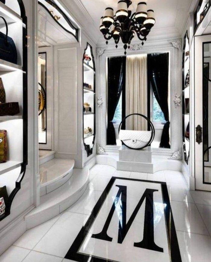 Beste Ankleidezimmer Idee Schwarz Und Weiss Luxus Luxus Wohnung Luxusschlafzimmer Wohnen
