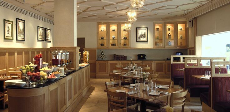 The restaurant with its charming décor coupled with sketches inspired by Charles Dickens' Pickwick Papers adorning the walls and antique kettles on display, is a slice of 19th century England blended with contemporary chic.