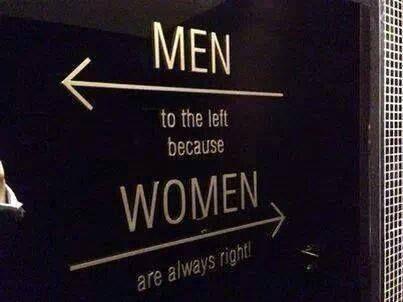 Immagine di women, men, and Right