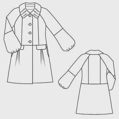 abri à tissus: Un manteau sympa pour l'hiver.