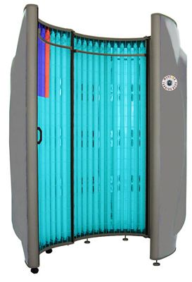 who invented the tanning bed
