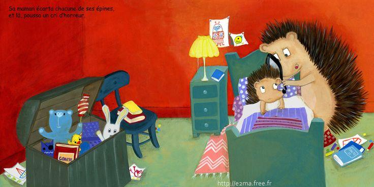 illustration jeunesse, e2ma, Emmanuelle Folligné