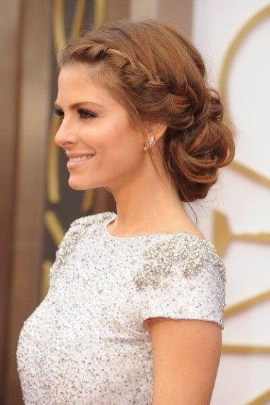 Pretty Plaits! Would love this with some flowers or garland or some sort of hair piece in it for the wedding.