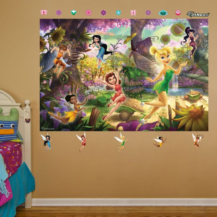 Disney Fairies Mural Part 51