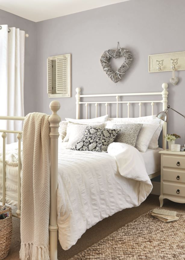 Chalk Cottage Bedroom #Dunelm #Home #Decor