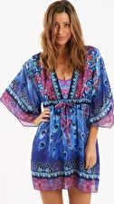 Gottex Contour Exotic Peacock Beach Dress - Multi Sashay around the pool in the Contour Exotic Peacock Beach Dress from Gottex with cocktail in hand! The intense colours and detailed print gives this kaftan an effortlessly glamorous look http://www.comparestoreprices.co.uk/january-2017-9/gottex-contour-exotic-peacock-beach-dress--multi.asp