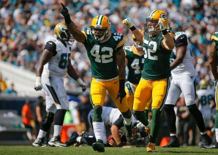 NFL Week 1 power rankings - September 5, 2017:  5. Green Bay Packers (4): The secondary appears to have made strides, but last year's 31st-ranked pass defense still might struggle with pressuring quarterbacks. Ahmad Brooks adds depth, but Clay Matthews and Nick Perry shoulder most of the load.