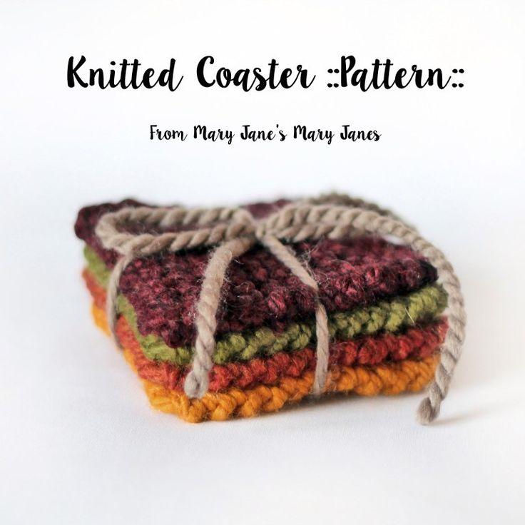 Quick Knit Bandana Triangle Cowl Free Knitting Patterns - Knitting