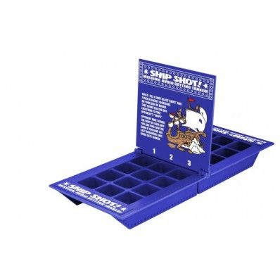 Avoid getting tanked ! This tabletop drinking games comes with 8 shot glasses and a game board that pits you against an opponent in a battle to keep your senses .