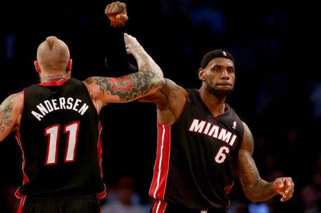 #NBA: LeBron James volverá a aliarse con Chris Andersen