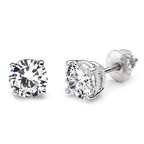 1 carat Diamond Stud Earrings,this is all I want for Christmas!!!!