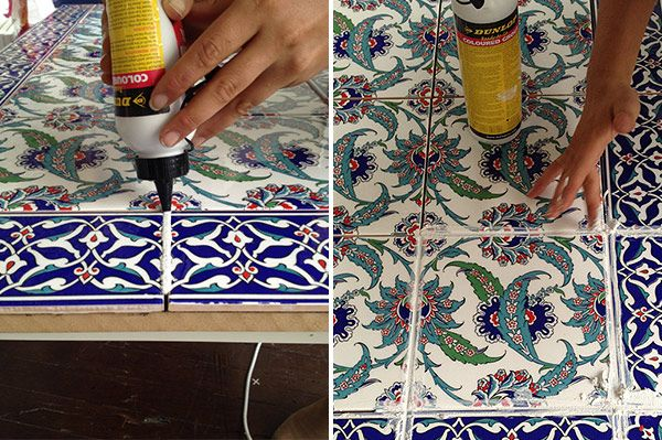 Tile your own table with stylist Emmaly Stewart