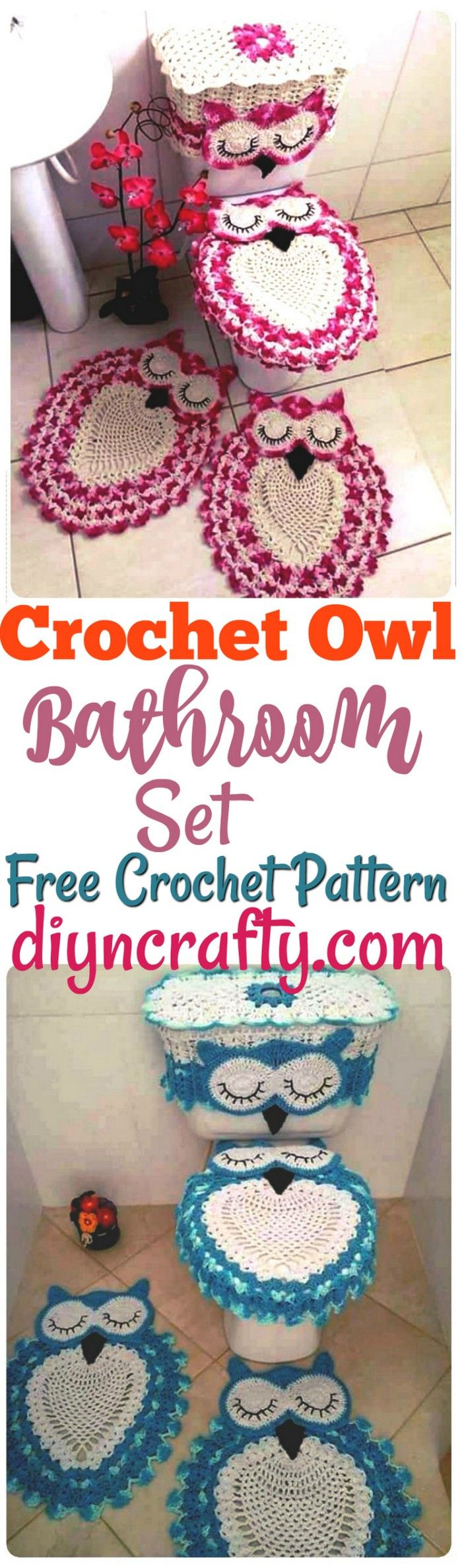 I am going to introducing you 5 mind-blowing and chic free crochet bathroom set ideas to make your bathroom gorgeous.