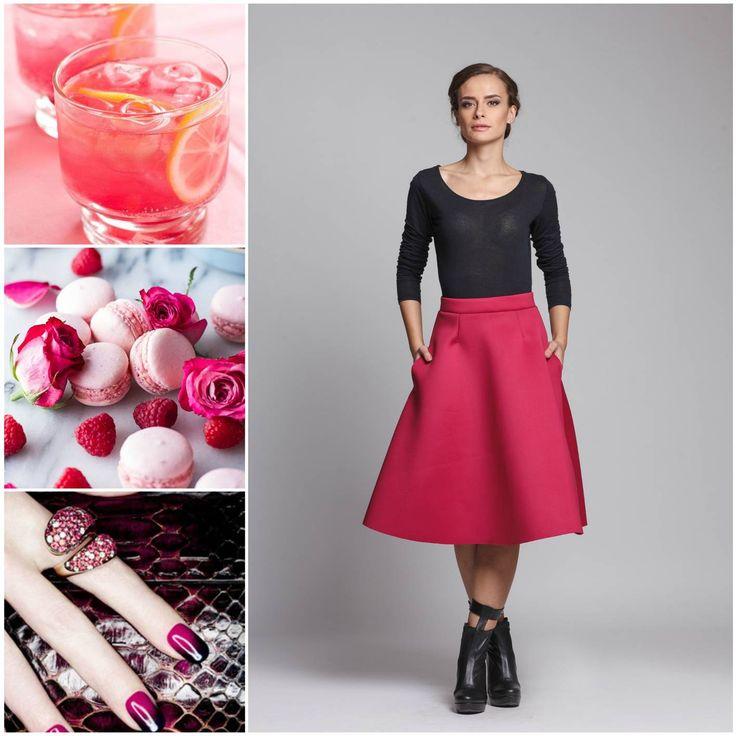 #Raspberry #pink #mood