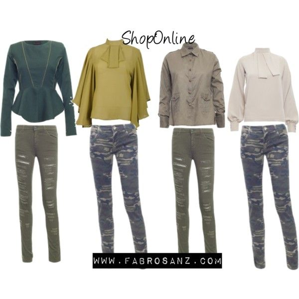 Camo Chich by FabroStyling on Polyvore