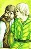 Legolas & Gimli Signed Print Patti Pearce Lord of the Rings Fantasy Painting
