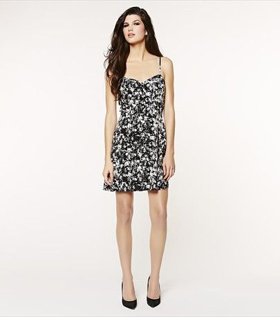 This flirty flared dress is ready for Spring!