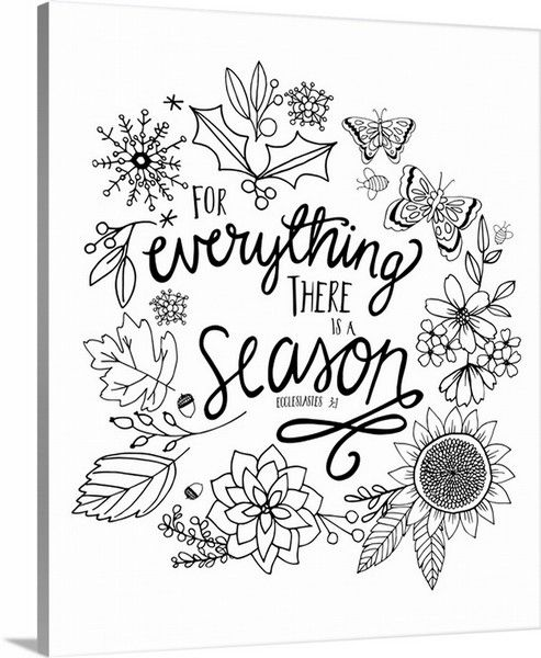 ecclesiastes 3 1 coloring pages - photo#4