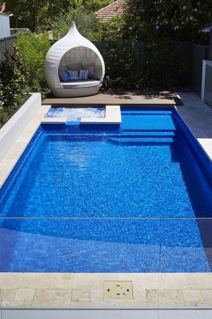 20 Magnificient Small Swimming Pool Design Ideas For Backyard ...