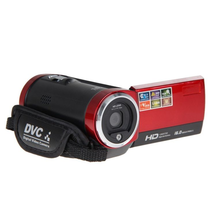 "16X 2.7""TFT LCD Digital Camera HD720P 16MP Electronic Anti-shaking USB 2.0  Digital Video Camcorder Camera DV DVR L3EF"