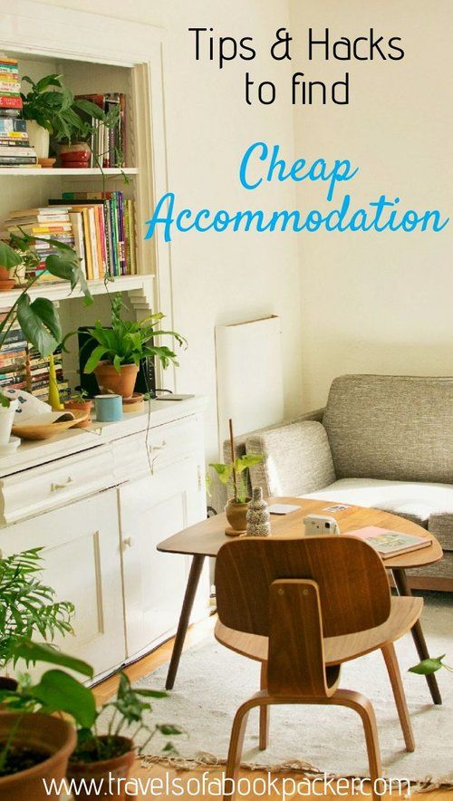 Tips and hacks for finding all kinds of budget accommodation. From free accommodation to luxury accommodation on a budget. #budgettravel #traveltips #accommodation