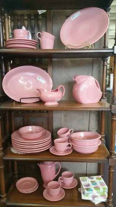 Pink vintage fiestaware dinnerware Sharon Ree's photo