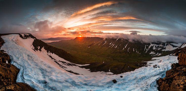 Hike Mt. Esja in the midnight sun!