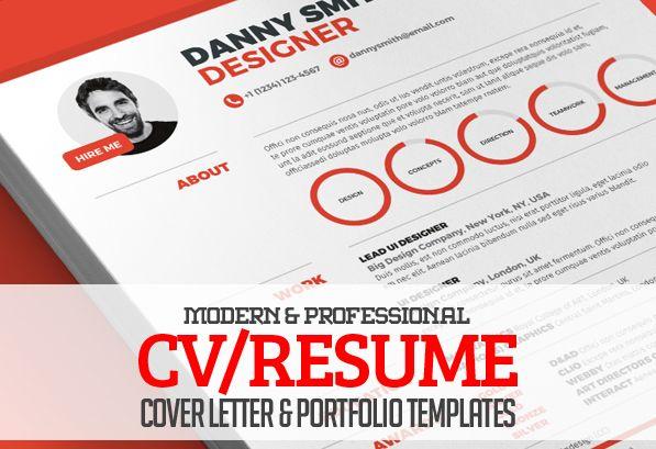13 Modern CV/Resume Templates + Cover Letter & Portfolio Page #resumetemplates #cvresume #coverletter #portfoliotemplate