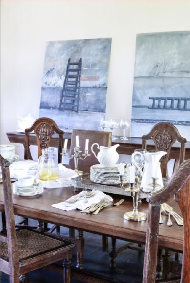 """This dining area is from our feature """"Casa Comfort"""""""