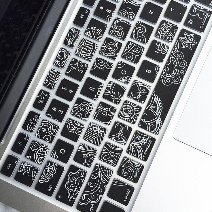 Macbook Keyboard Cover - Paisley