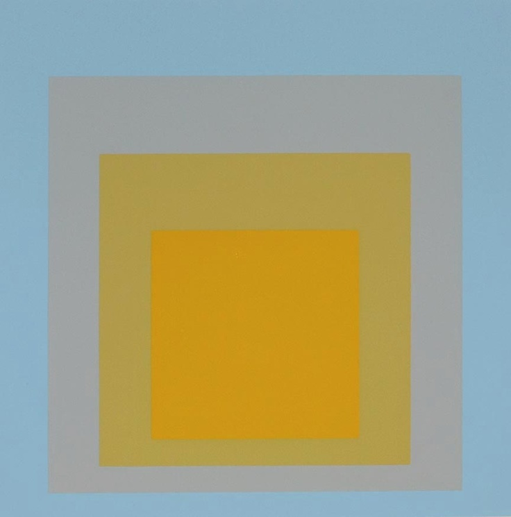 What better way to start my collection than with a Josef Albers print? Santa...http://decdesignecasa.blogspot.it