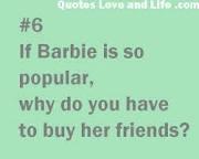 barbie jokes