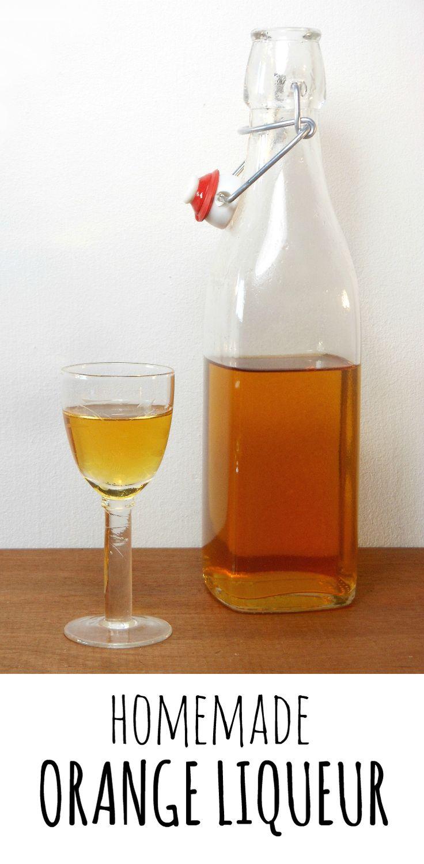 Homemade orange liqueur (Grand Marnier!) | SWEET recipes | Pinterest ...