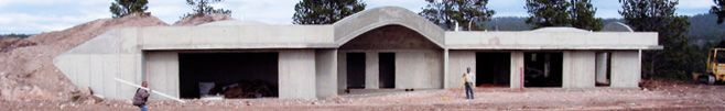 Award Winning Earth Sheltered Structures and plans. MN company