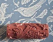 Flock patterned paint roller from The Painted House