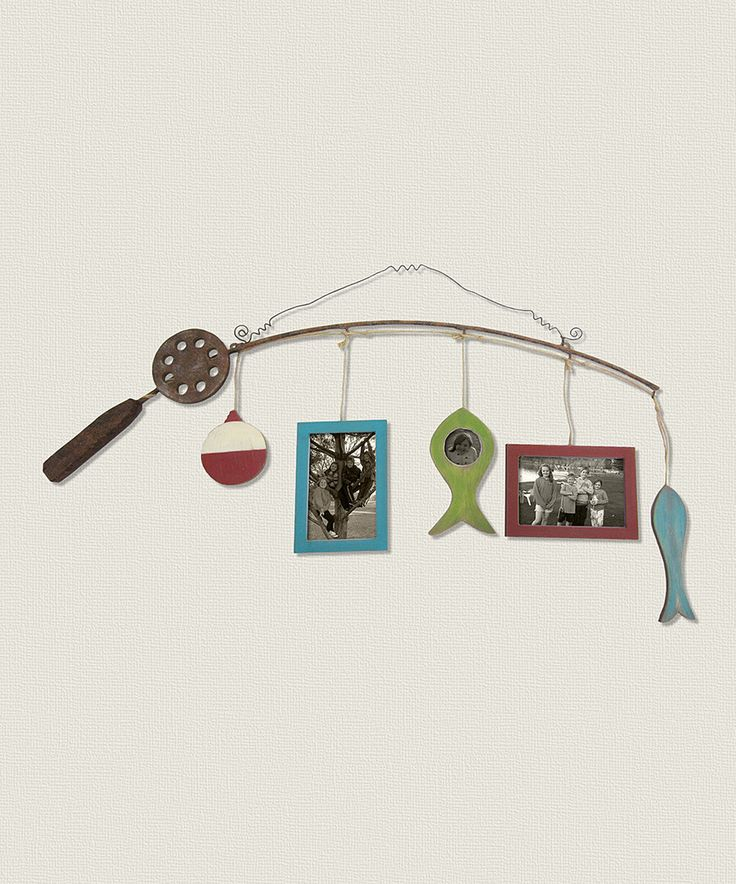 Look at this Fishing Rod Picture Frame on #zulily today!