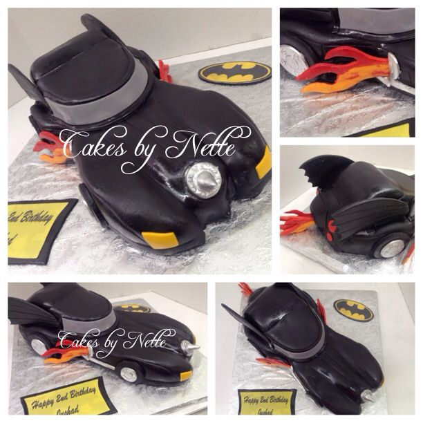 Batman Car Birthday Cake. Instagram: CakesByNetteStl. Facebook: Cakes ...