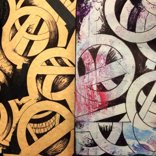 circles drawing / circles painting