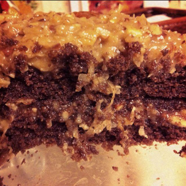 Gluten Free And Diabetic Friendly German Chocolate Cake