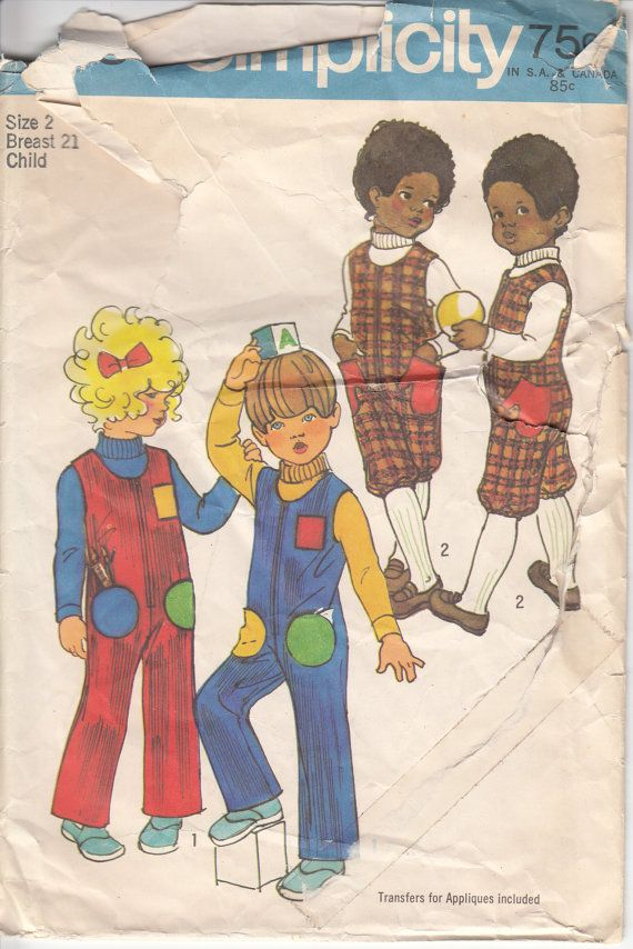232 Best Images About Vintage Children S Sewing Patterns