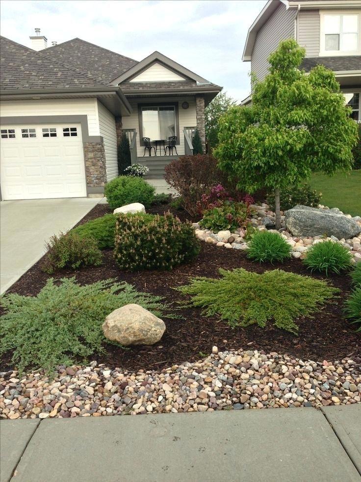 No Maintenance Front Yard Landscaping Elegant Landscape