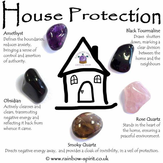 House Home Protection Crystal Set