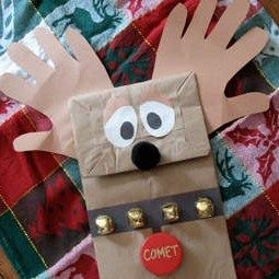 """Easy craft for """"friend"""" puppet or """"monster"""" puppet. Maybe include discussions of friendship/monsters in life...?"""
