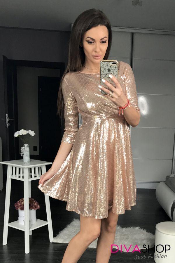 Rochie de seara eleganta galben